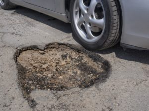Poorly Maintained Roads Resulting in a Motor Vehicle Accident